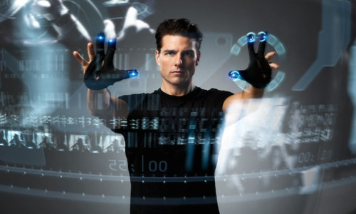 Tom Cruise no filme Minority Report