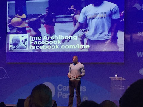 Diretor de parcerias estratégicas do Facebook na campus party brasil 8