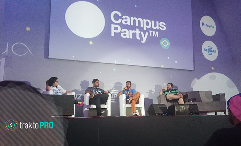 Campus Party: TraktoPro no Palco Lua