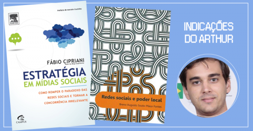 Indicações do Arthur de livros sobre marketing digital
