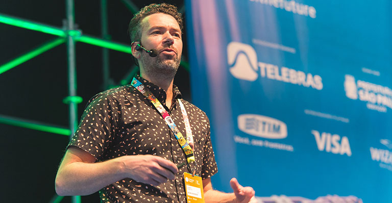 MICHEL SMIT na Campus Party Brasil