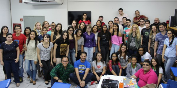Registro no Rails Girls Maceió, no ano passado